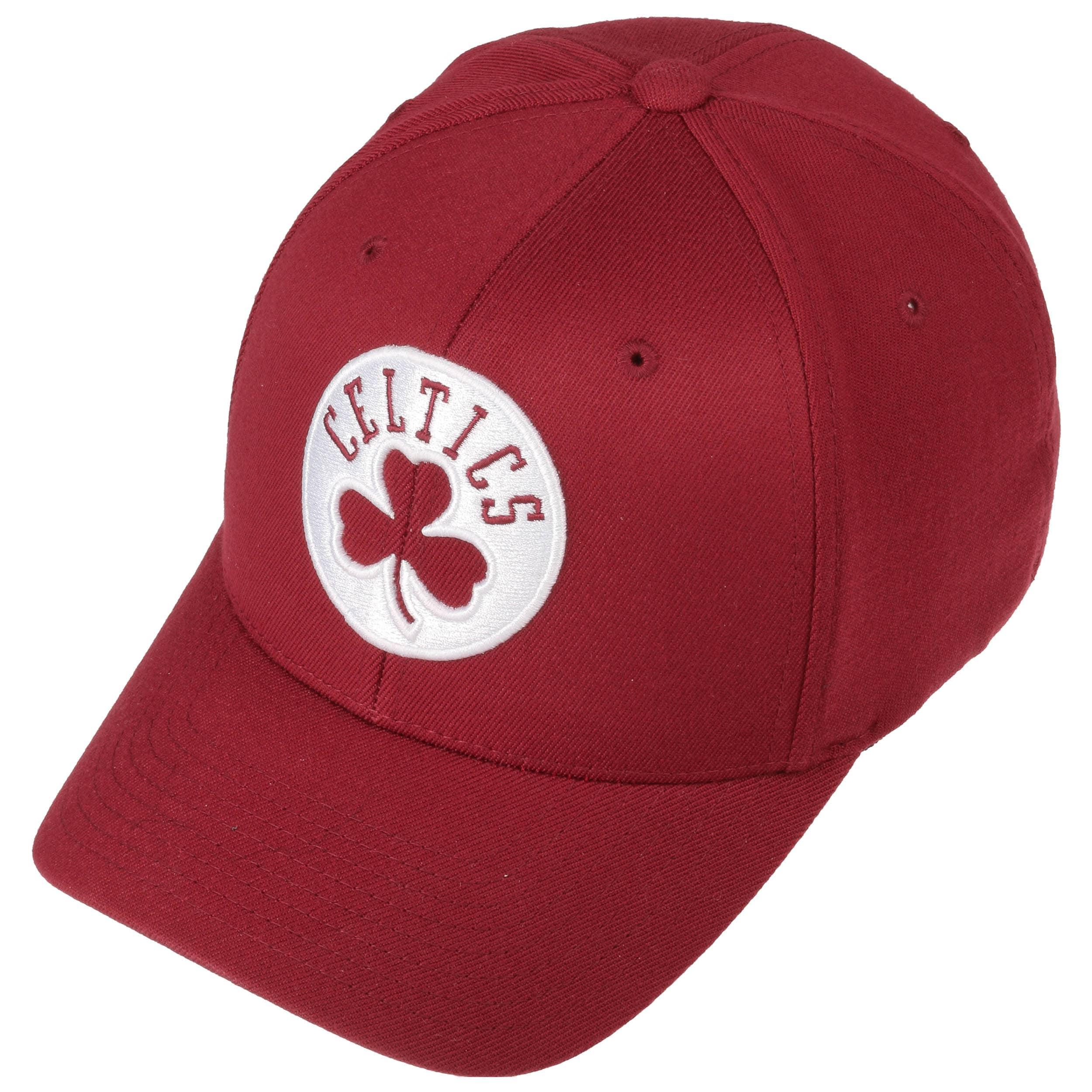 110 Burgundy Celtics Cap by Mitchell   Ness - bordeaux 1 ... 52b2187348e