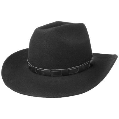 Lipodo Bill Cody Cowboy Westernhut Filzhut Cowboyhut Wollfilzhut Hut