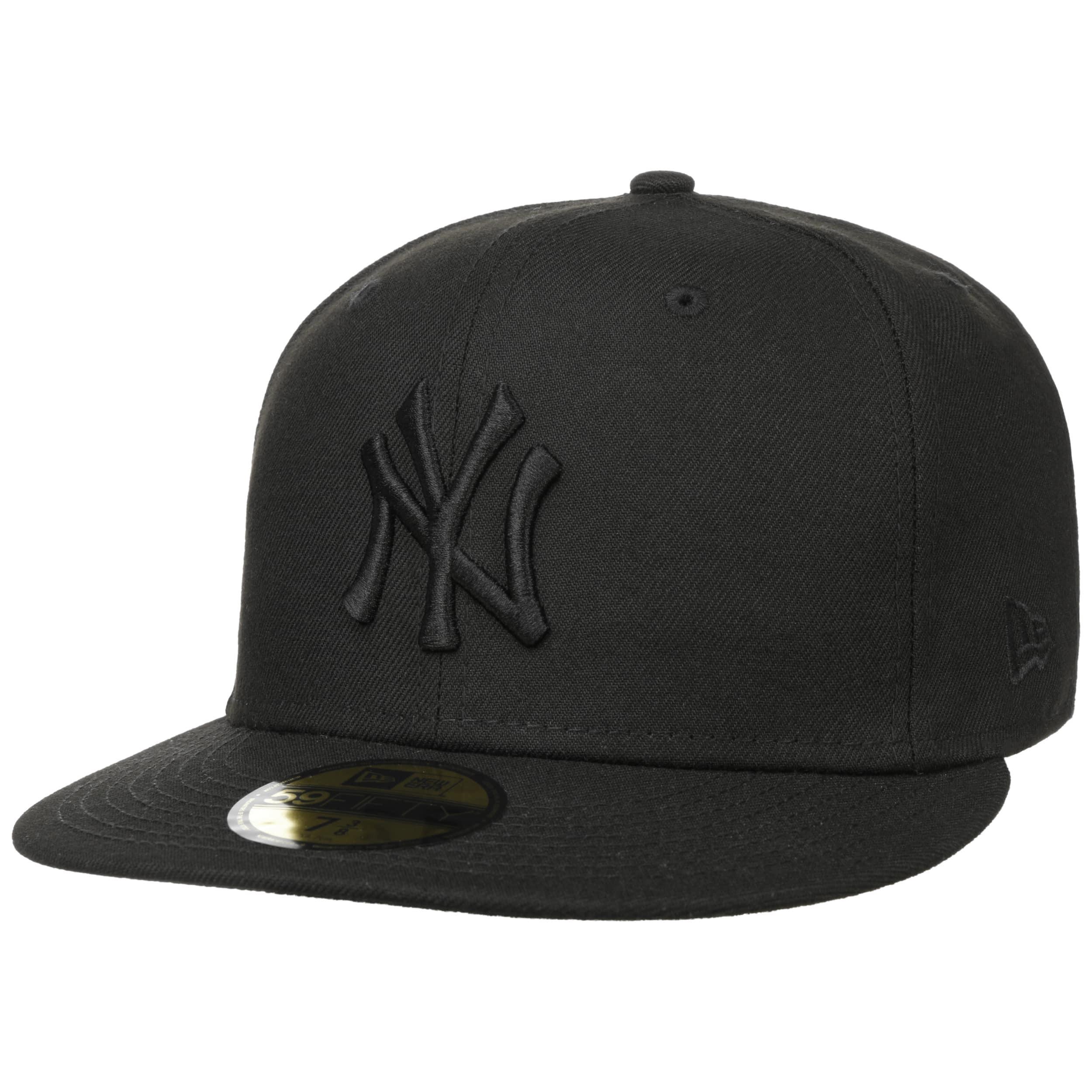 Artikel klicken und genauer betrachten! - Die 59FIFTY von New Era sollte einst eine einheitliche, unverwechselbare Kopfbedeckung für die Spieler der amerikanischen Baseballprofiliga MLB sein, ist heutzutage jedoch zum Nonplusultra der Cap-Szene geworden. Die unter dem Namen Brooklyn style cap bekannte Kappe ist aus Kammwolle gefertigt und bietet als offizielle Kopfbedeckung der New York Yankees Spitzenqualität.   im Online Shop kaufen