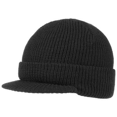 Cap Styler Mütze mit Schirm Beanie Strickmütze Beaniemütze - Bild 1
