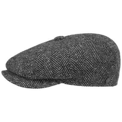 Lierys Fischgrat Schildmütze Schirmmütze Sportmütze Herringbone Herrenkappe Flatcap Hatterasform - Bild 1