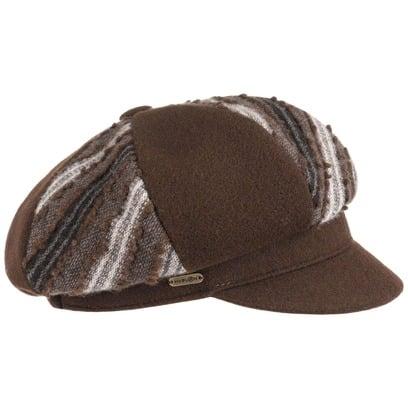 McBURN Scutia Ballonmütze Damencap Kappe Balloncap Damenmütze Mütze Cap Wollcap mit Kaschmir - Bild 1