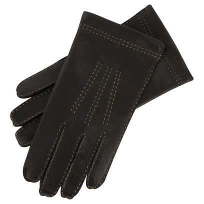 Roeckl Ziernaht Leder Herrenhandschuhe - Bild 1