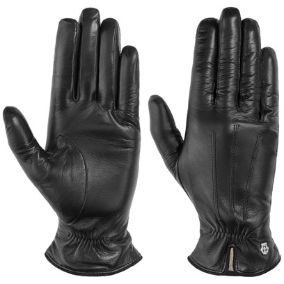 Roeckl Raffung Leder Damenhandschuhe - Bild 1