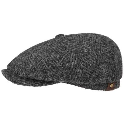 Stetson Hatteras Herringbone Flatcap Schirmmütze - Bild 1