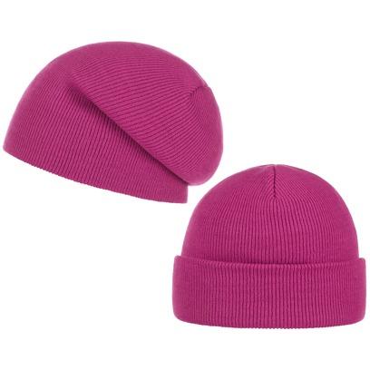 Basic Oversize Beanie Mütze Long Slouch Umschlagmütze Indoormütze Büromütze - Bild 1