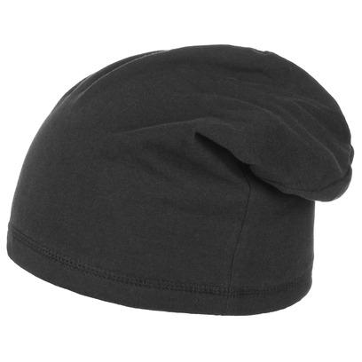 Lipodo Boston Oversize Jerseymütze Oversizemütze Beanie Pull-On Baumwollmütze Indoormütze Mütze - Bild 1