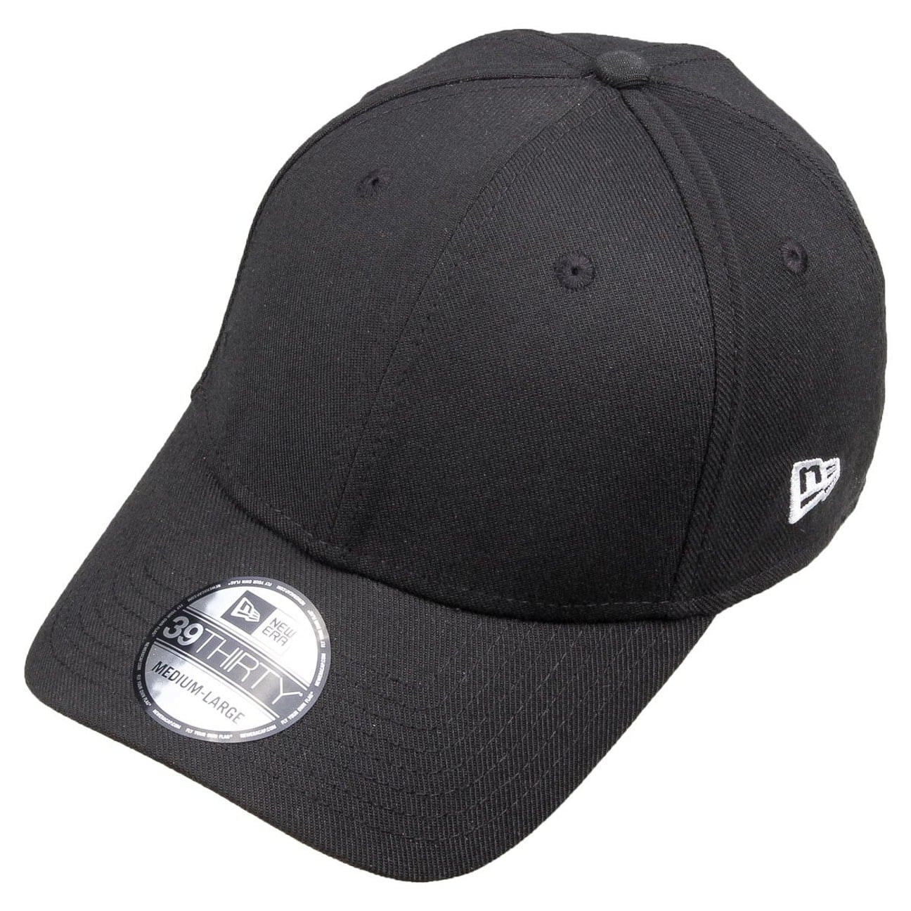 dcb2192e59b ... 39Thirty Blank Baseball Cap by New Era - black 2 ...