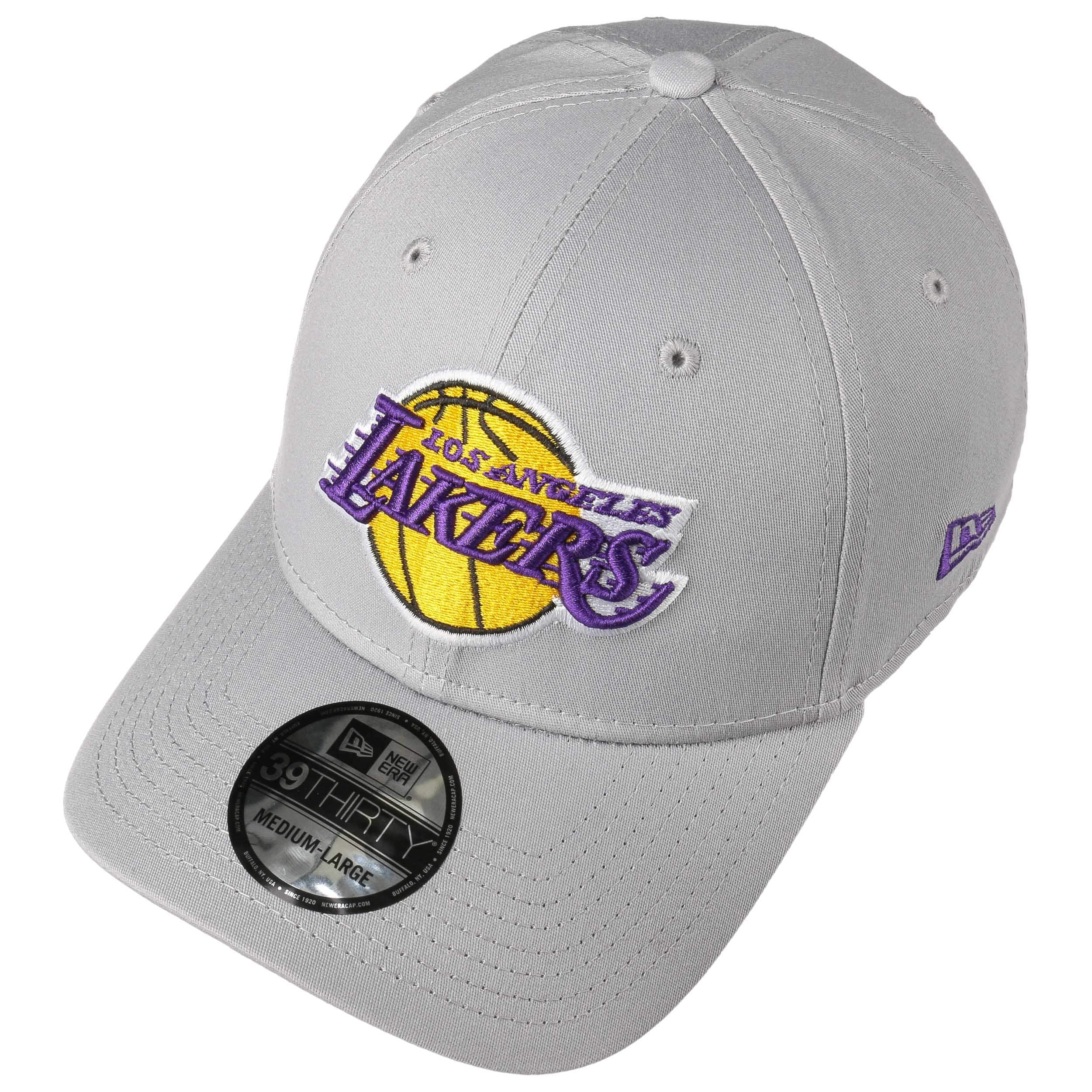 cheap for discount 73dc8 cf645 39Thirty NBA Team Lakers Cap by New Era - grey 1 ...