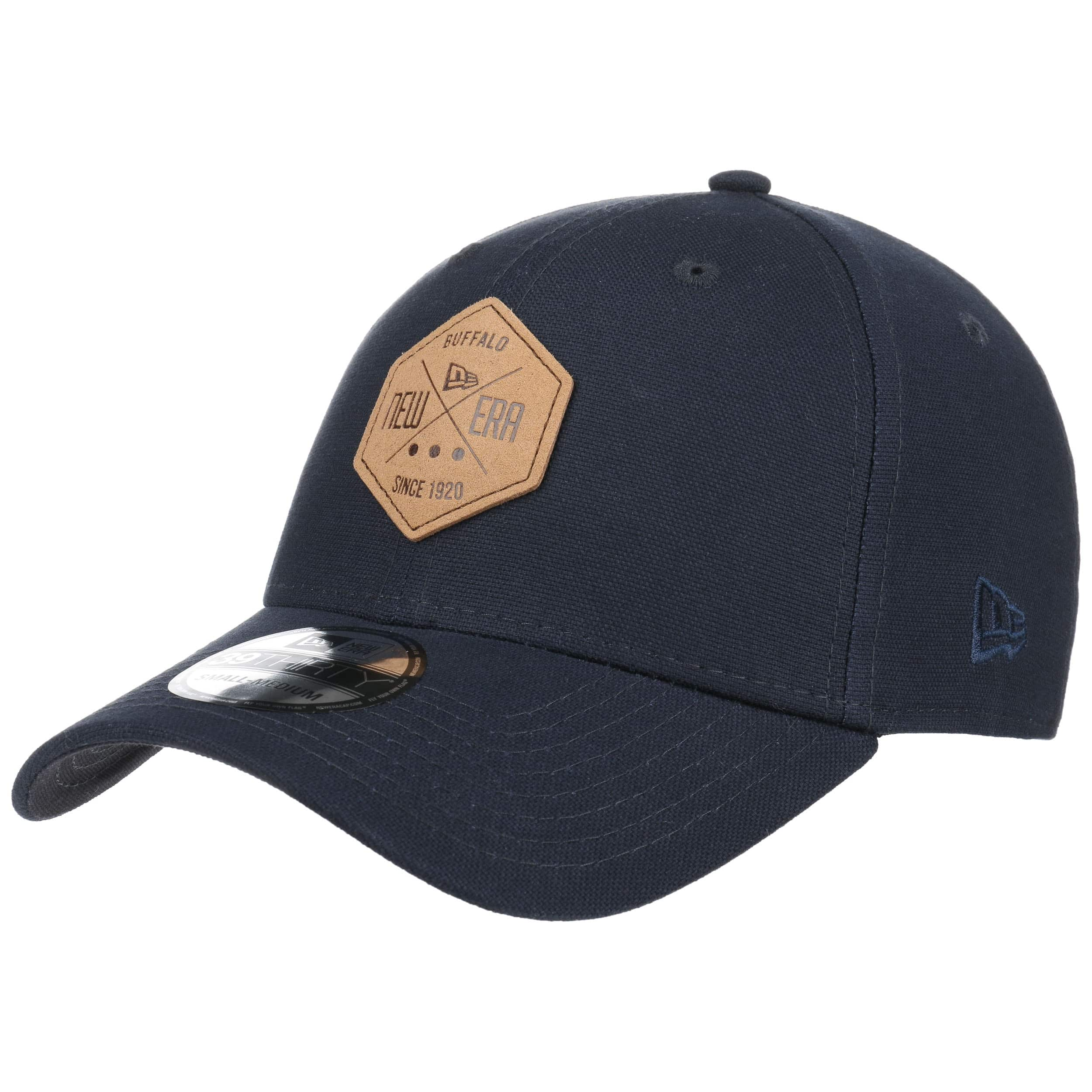 ... 39Thirty Stretch Hex Patch Cap by New Era - navy 6 ... 946eb9016e4