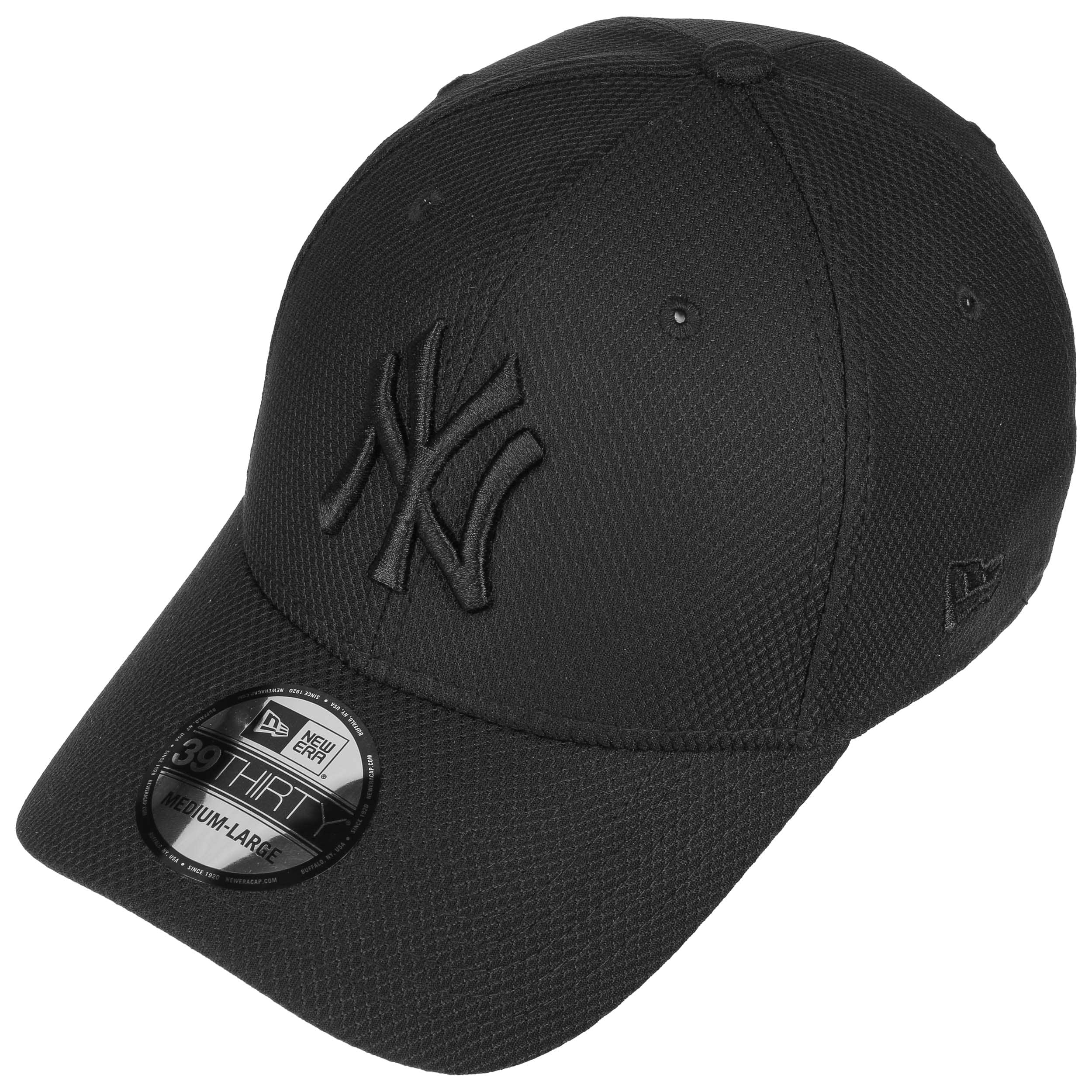75a9597a ... 39Thirty Yankees Diamond Cap by New Era - black-black 1 ...