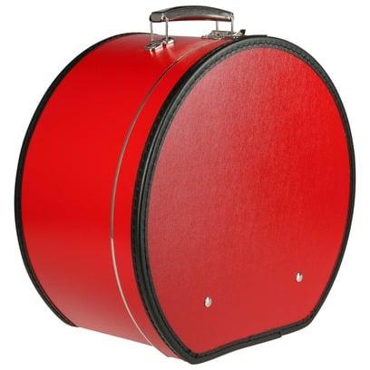 Lierys Hutkoffer Rot Hutschachtel Hutbox Transportbox