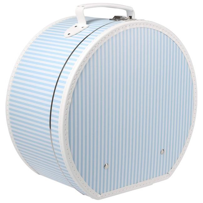 Hutschachtel Stripes Lierys - - hellblau