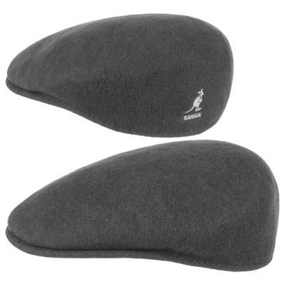Kangol Herren Damen Mütze Schirmmütze Flatcap Original 504 | Schlägermütze mit Kultstatus 0258BC - Bild 1
