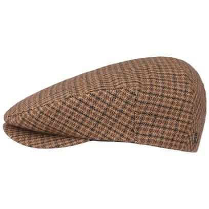 Brixton Herringbone Cap Flatcap Schirmmütze - Bild 1