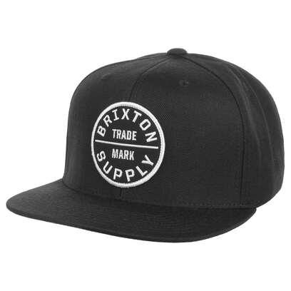 Brixton Oath Cap Basecap Baseballcap Kappe Flat Brim Snapback - Bild 1