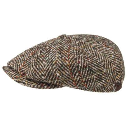 Stetson Mütze Kappe Hatteras Herringbone Schirmmütze - Bild 1