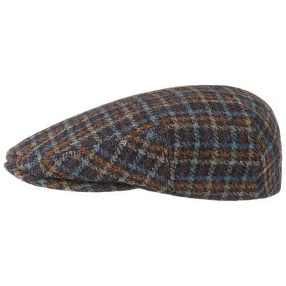 Stetson Kent Woolrich Flatcap Schirmmütze Wollcap Schiebermütze Cap Mütze Wintermütze Karomuster - Bild 1
