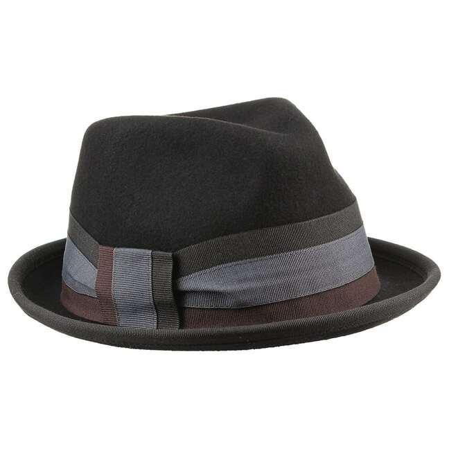Feltro Damenhut bedacht - One Size - schwarz