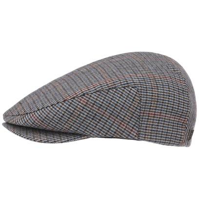 Brixton Hooligan Houndstooth Cap Flatcap Schirmmütze Schiebermütze Wollmütze Karomuster - Bild 1