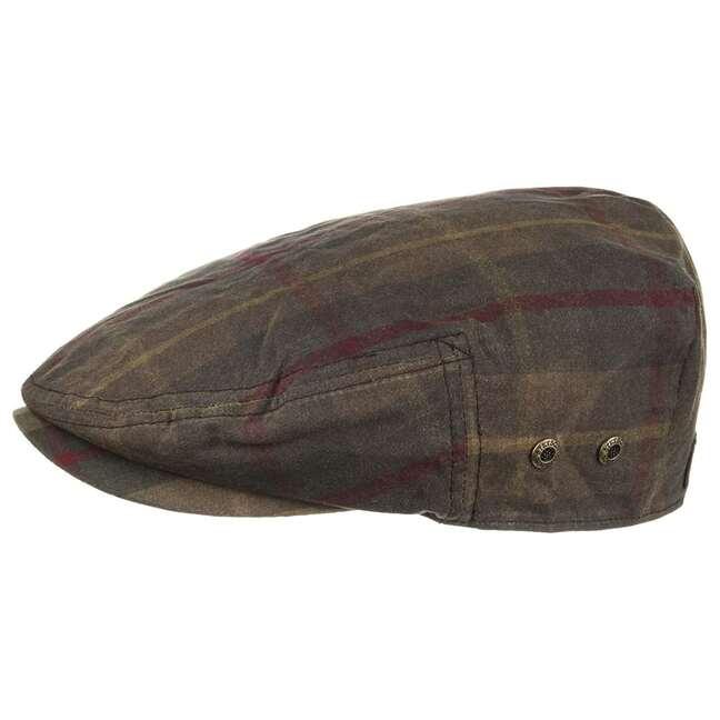 Mütze Schirmmütze Adin Waxed Tartan Flatcap Ste...