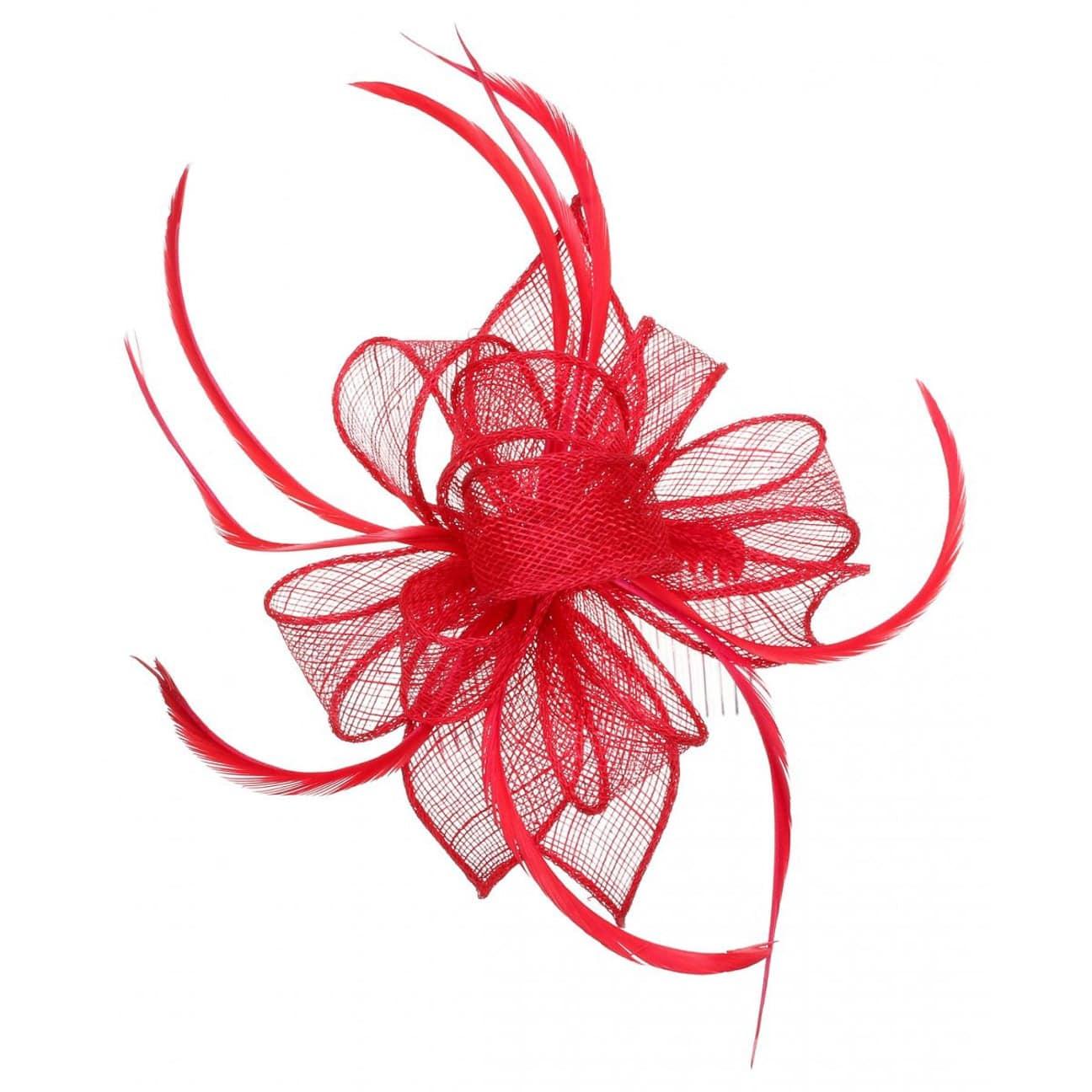Lierys Haarschmuck mit Kamm Kopfschmuck rot
