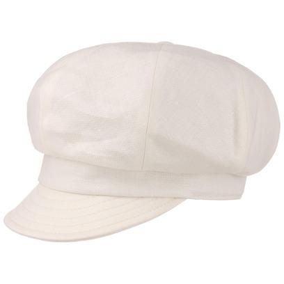 Bronté Leinen Ballonmütze Newsboy Cap Mütze Cap Damenmütze Damencap Sommercap - Bild 1