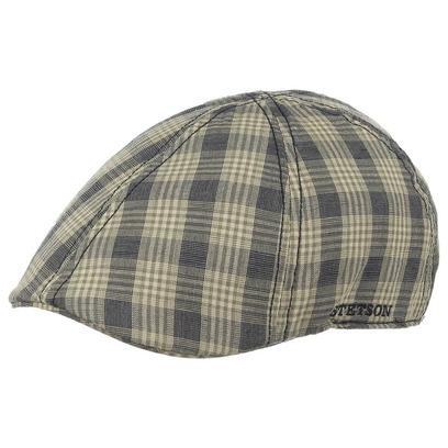 Stetson Mütze Schirmmütze Baumwolle Texas Cotton Karo Gatsbycap - Bild 1
