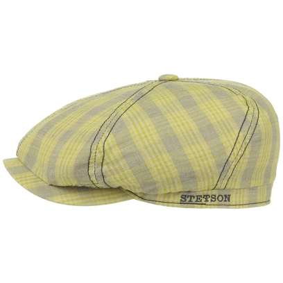Stetson Brooklin Cotton Linen Flatcap Schirmmütze Schiebermütze Leinencap Baumwollcap - Bild 1