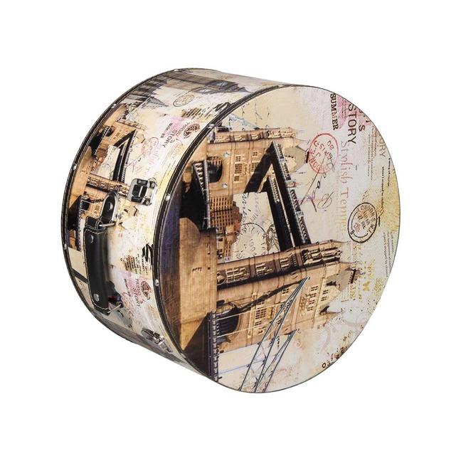 Hutschachtel Hutbox London 31 cm - - beige