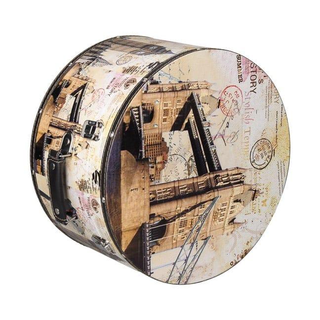 Hutschachtel Hutbox London 35 cm Lierys - - beige