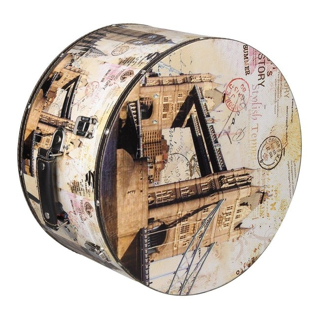 Hutschachtel Hutbox London 38 cm Lierys - - beige