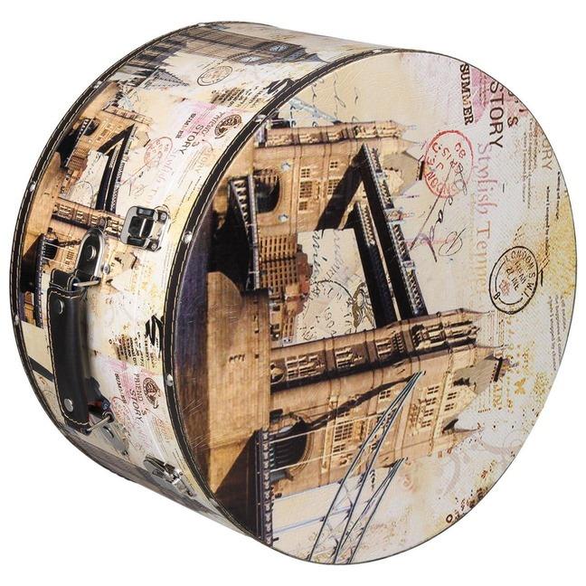 Hutschachtel Hutbox London 41 cm Lierys - - beige