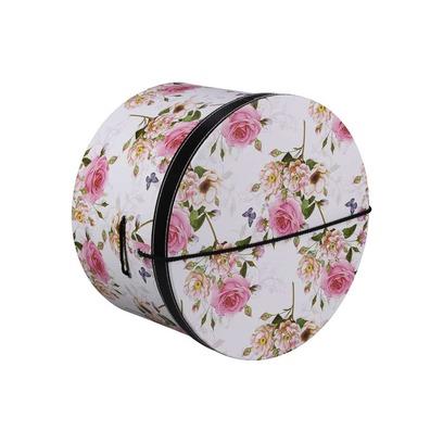 Lierys Hutschachtel Hutbox Pink Flowers 28 cm - Bild 1