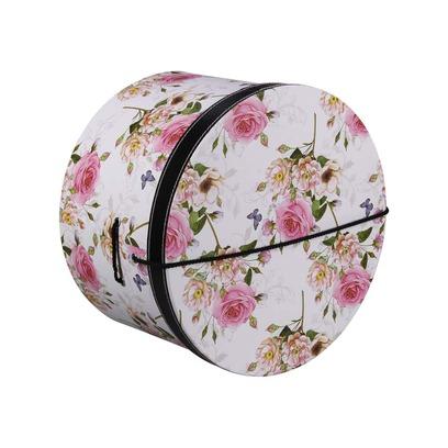Lierys Hutschachtel Hutbox Pink Flowers 31 cm - Bild 1