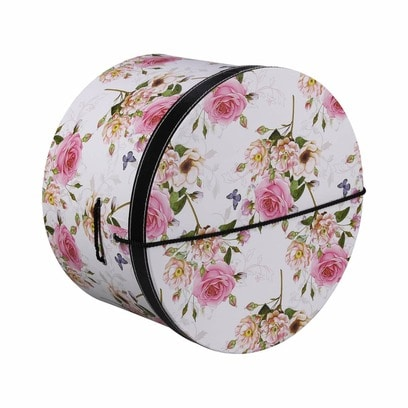 Lierys Hutschachtel Hutbox Pink Flowers 34 cm - Bild 1