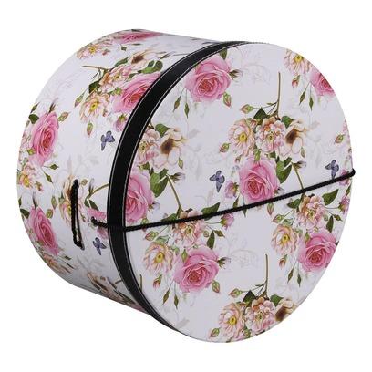 Lierys Hutschachtel Hutbox Pink Flowers 42 cm