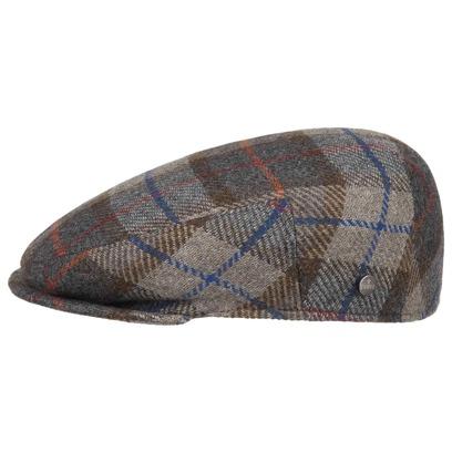 Lierys Inglese Flatcap mit Überkaro Schirmmütze - Bild 1