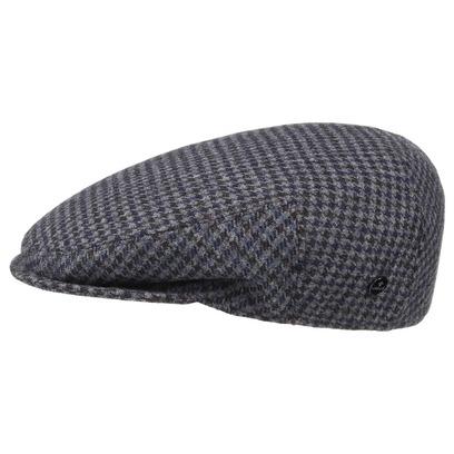 Lierys Britain Hahnentritt Flatcap Schirmmütze - Bild 1