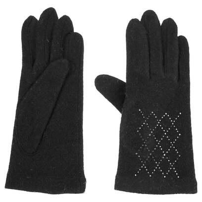 Roeckl Damenhandschuhe Kristall Strickhandschuhe