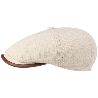 Stetson Schirmmütze Hatteras Cotton Herringbone Cap - Bild 1
