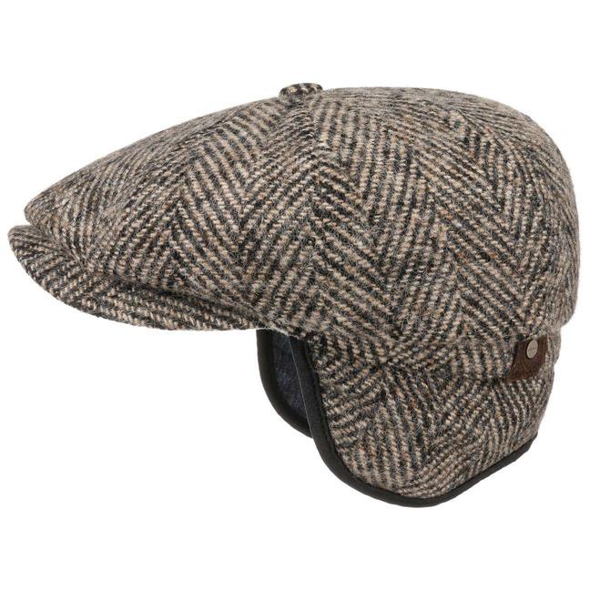 Mütze Schirmmütze Hatteras Ohrenklappen Flatcap Stetson