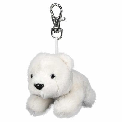 Eisbär Eisbär Schlüsselanhänger Schlüsselring mit Karabinerhaken