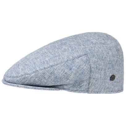 Lierys Schirmmütze Mütze Baumwollcap Schiebermütze Inglese Melange Flatcap - Bild 1