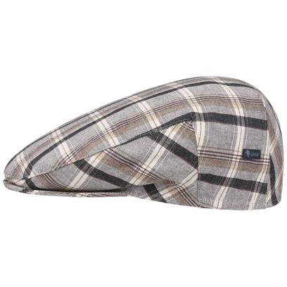 Lierys Schirmmütze Karocap Schiebermütze Inglese Cotton Flatcap