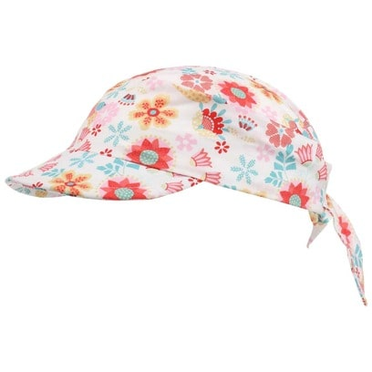 Sterntaler Bandana Cap Blumen Mädchenmütze Kindercap Visor Kopftuch - Bild 1