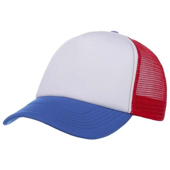 Tricolore Rapper Cap Meshcap Kappe Mütze