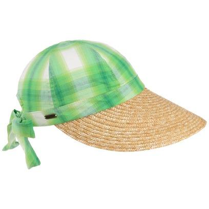 McBURN Quadri Sommercap Strandcap Duck Cap mit Strohvisor - Bild 1