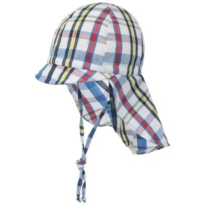 maximo Kinder Schirmmütze Nackenschutz Strandmütze Sonnenschutz-Cap