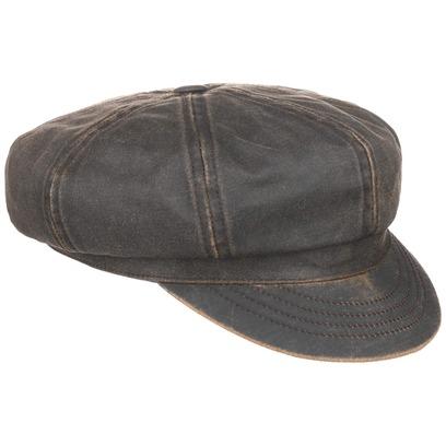 Stetson Safford Old Cotton Newsboy Cap Ballonmütze Baker Boy Baumwollcap - Bild 1